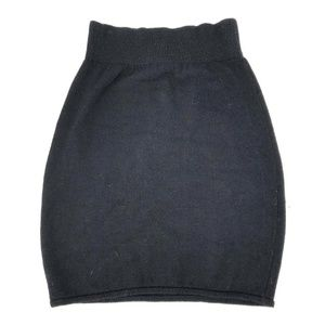 St John Knits Black Pencil Dress Skirt Fitted S